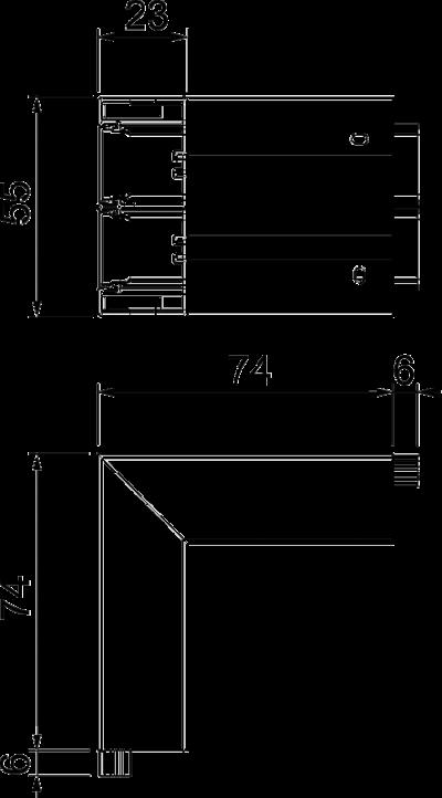 Схема Внешний угол — арт.: 6113220