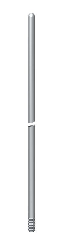 Молниеприемный стержень, округленный с одной стороны — арт.: 5401771