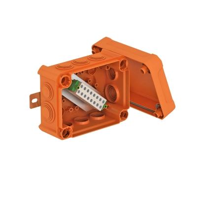 Огнестойкая распределительная коробка FireBox T100ED для устройств передачи данных с внешним креплением и ударопрочной крышкой — арт.: 7205640