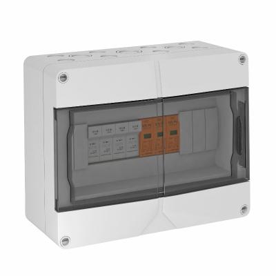 Системное решение для защиты фотогальванических установок с 4 держателями для предохранителей, в корпусе, с разрядниками V25. 900 В — арт.: 5088640