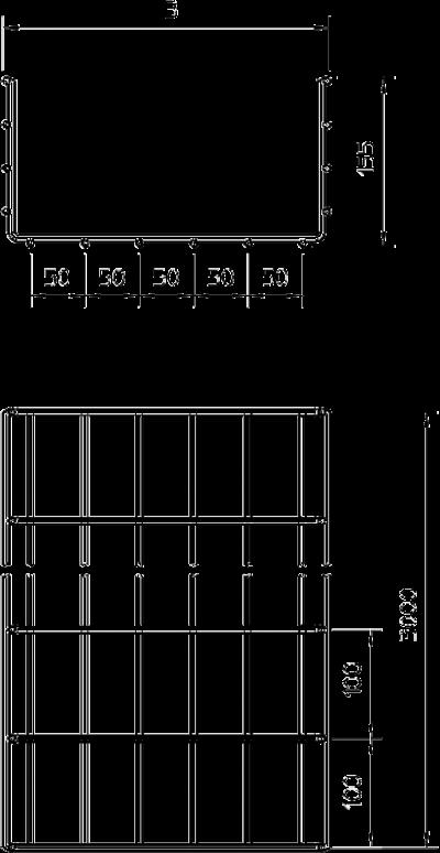 Схема Проволочный лоток GR — арт.: 6003681