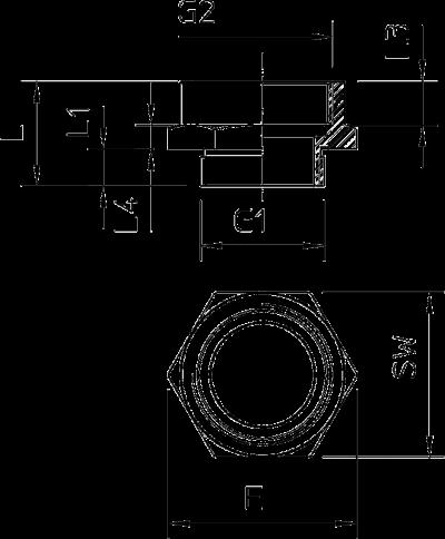 Схема Адаптер PG — M — арт.: 2088291