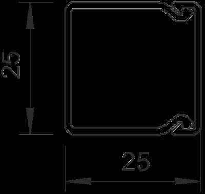 Схема Кабельный короб WDK 25025 — арт.: 6191053