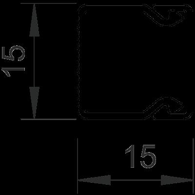 Схема Кабельный короб WDK 15015 — арт.: 6191002