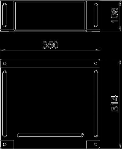Схема Крышка Т-образной секции — арт.: 7216462