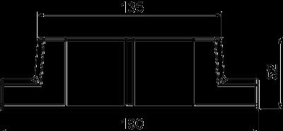 Схема Адаптер для Т-образной секции — арт.: 6113304