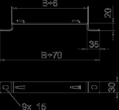 Схема Дистанционная скоба — арт.: 6015646