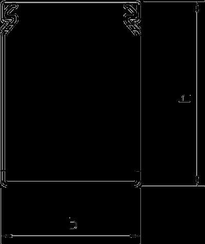 Схема Распределительный кабельный короб 75025 — арт.: 6178320