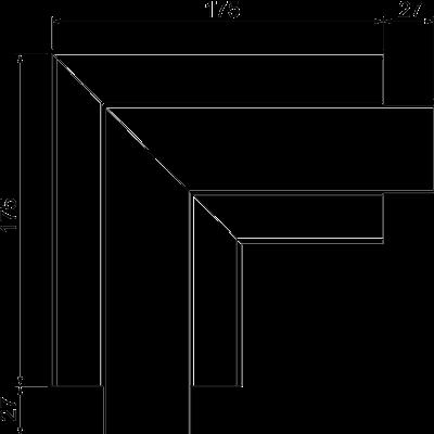 Схема Плоский угол — арт.: 6113080