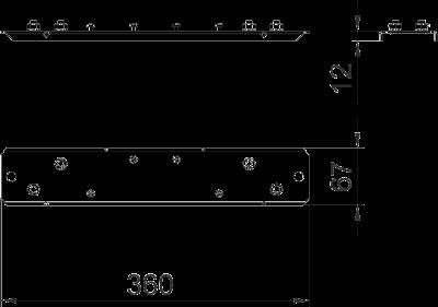 Схема Пластина для редукционной торцевой заглушки — арт.: 7216406