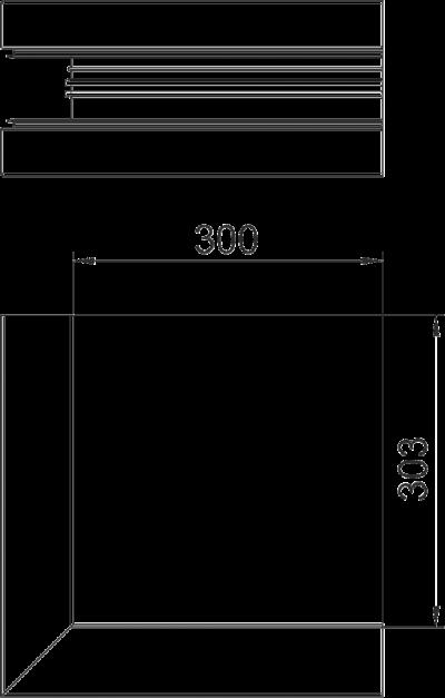 Схема Внешний угол для кабельного короба высотой 90 мм — арт.: 6279613