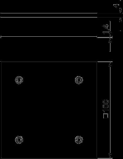 Схема Заглушка для монтажного отверстия Telitank — арт.: 7407076