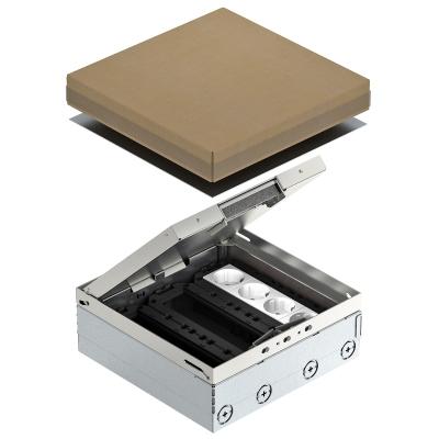 Лючок UDHome9 с модульной рамкой MT4, укомплектованный, из нержавеющей стали — арт.: 7427308