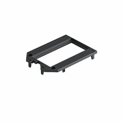 Накладка для универсальной монтажной коробки UT3, с отверстием для двойной розетки Modul 45® — арт.: 7408773