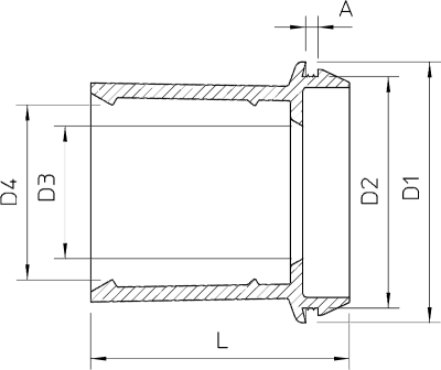 Схема Вставной уплотнитель EDR — арт.: 2011522