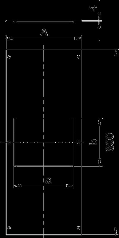 Схема Крышка с отверстием для лючка GES6, 800 мм — арт.: 7402056