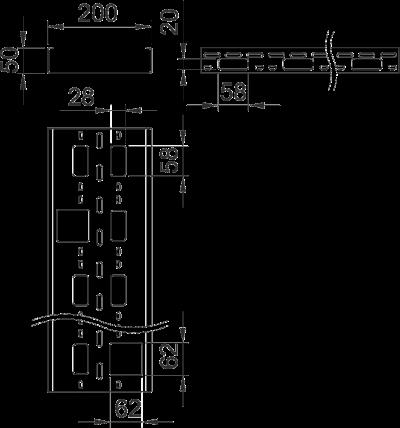 Схема Мини-канал AZ 200 мм — арт.: 6075355