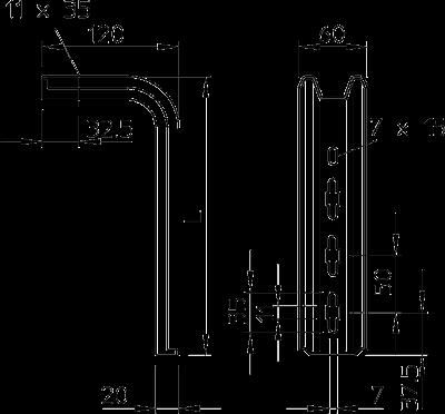 Схема Подвесная стойка TP — арт.: 6364322
