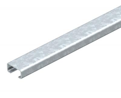 Профильная рейка с шириной шлица 16 мм, неперфорированная — арт.: 1110002