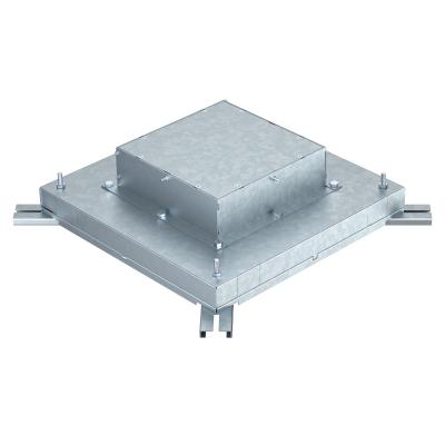 Монтажное основание под заливку в бетон, с крышкой для лючка GES9 — арт.: 7399852