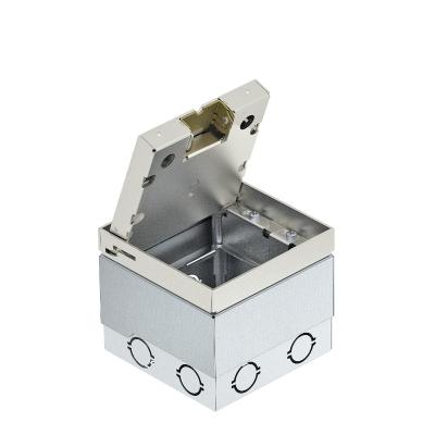 Лючок UDHome2 с выемкой для напольного покрытия в крышке из нержавеющей стали, для индивидуальной комплектации — арт.: 7427090