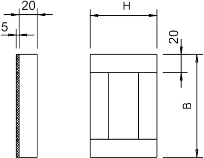 Схема Торцевая заглушка — арт.: 7214705