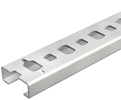 Профильная рейка с шириной шлица 11 мм, разъемная — арт.: 1106023