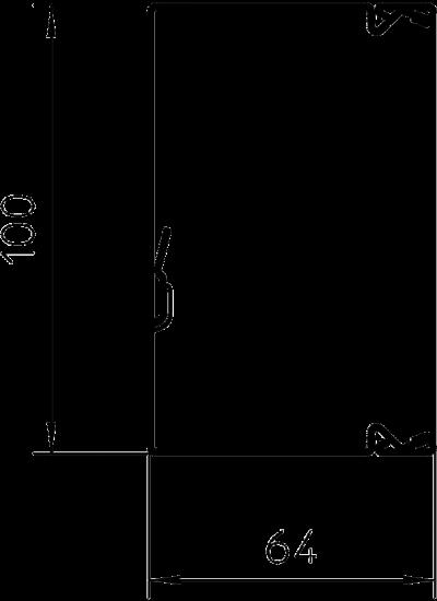 Схема Кабельный короб LKM 60100 — арт.: 6247113