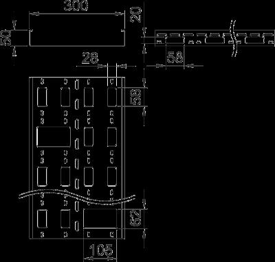 Схема Мини-канал AZ 300 — арт.: 6075370