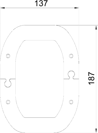 Схема Потолочная накладка для электромонтажной колонны ISSDM45R — арт.: 6290387