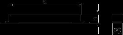 Схема Соединитель секций кабельного канала — арт.: 7400962