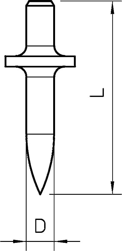 Схема Дюбель ОБО, стальной — арт.: 3105016