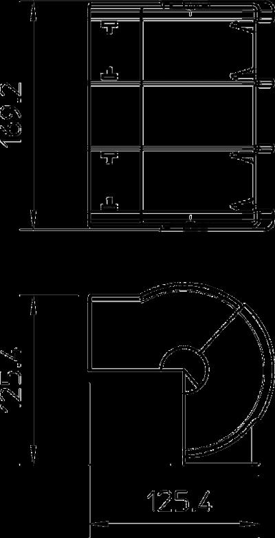 Схема Крышка внешнего угла — арт.: 6116261