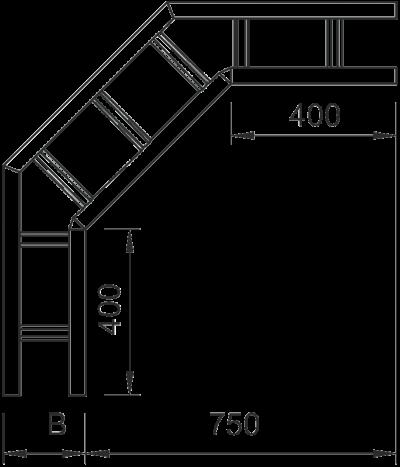 Схема Угловая секция 90° — арт.: 6233422