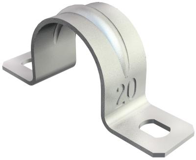 Крепежная скоба стандартная, с двумя лапками — арт.: 1018078