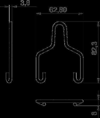 Схема Подвесная скоба — арт.: 6066505