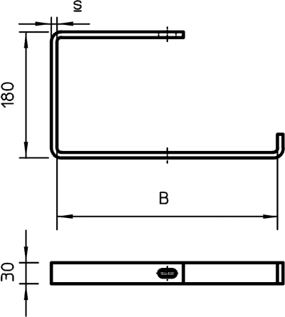 Схема Подвесная скоба — арт.: 6363903