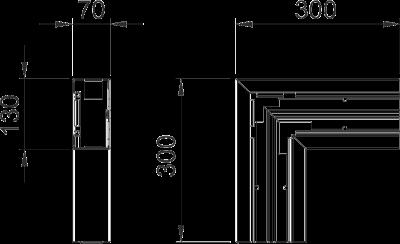 Схема Плоский угол — арт.: 6114240