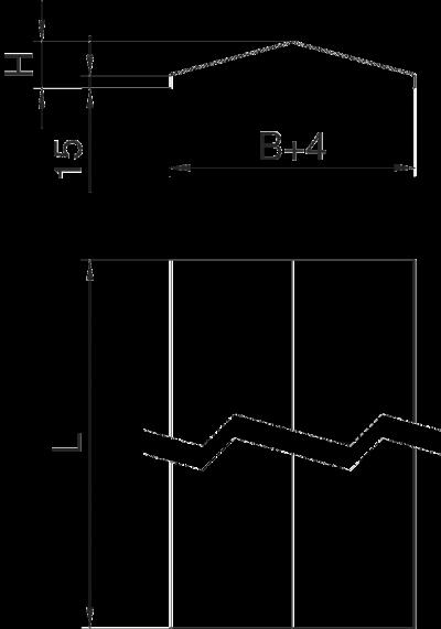 Схема Крышка скатной формы — арт.: 6227261