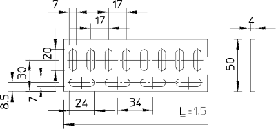 Схема Конструкционный и подвесной профиль — арт.: 7104669