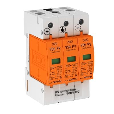 Комбинированный разрядник V50 для фотогальванических установок, 600 В постоянного тока — арт.: 5093623