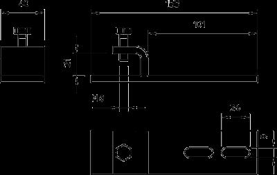 Схема Фиксатор горизонтальный — арт.: 6003873
