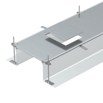 Секция кабельного канала с крышкой для лючка GES6, высота 40 — 240 мм — арт.: 7424182