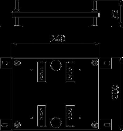 Схема Регулируемая опора для лючков UDHome4 — арт.: 7427440
