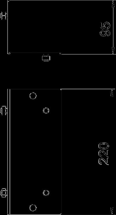 Схема Пластина для внешнего угла — арт.: 7216325