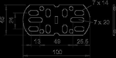 Схема Продольный и угловой соединитель — арт.: 6066569