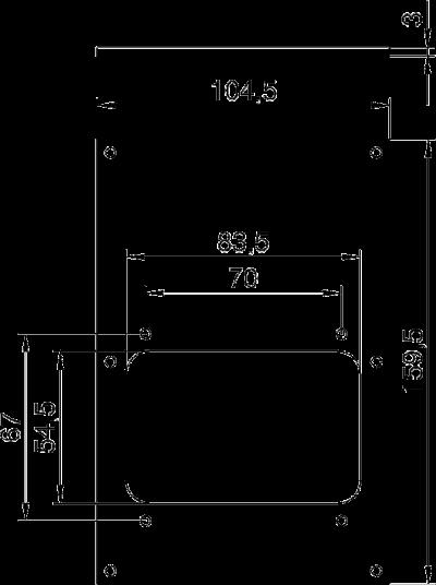 Схема Плата VHF для 1 защитного устройства — арт.: 6109867