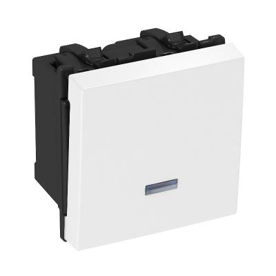 Выключатель, ширина 1 модуль, со светодиодной подсветкой — арт.: 6117647