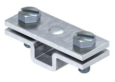 Держатель для плоских проводников, с крепежным отверстием Ø 7 мм — арт.: 5032539