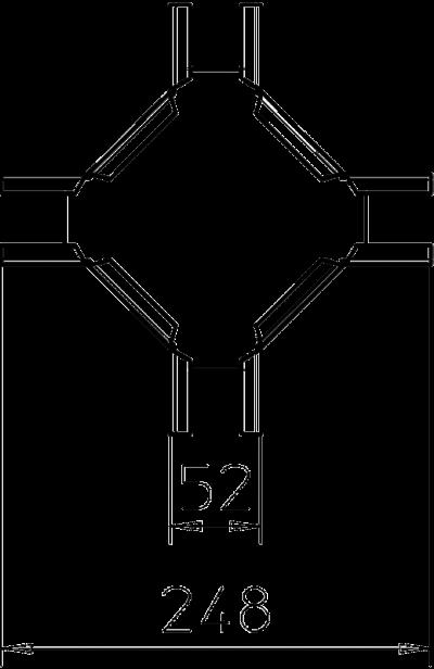 Схема Крестообразная секция — арт.: 6074921